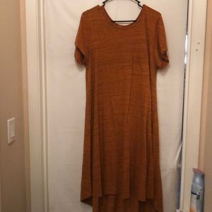 LulaRoe Rust colored XL Carly (18/20)